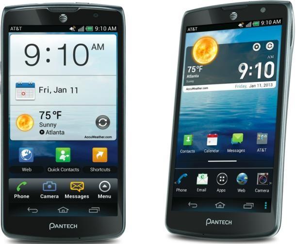 Pantech Discover Samsung CES