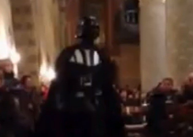 star wars church darth vader
