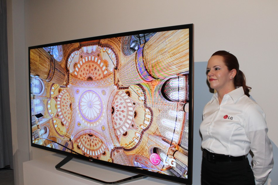 LG's 84in Ultra HD TV