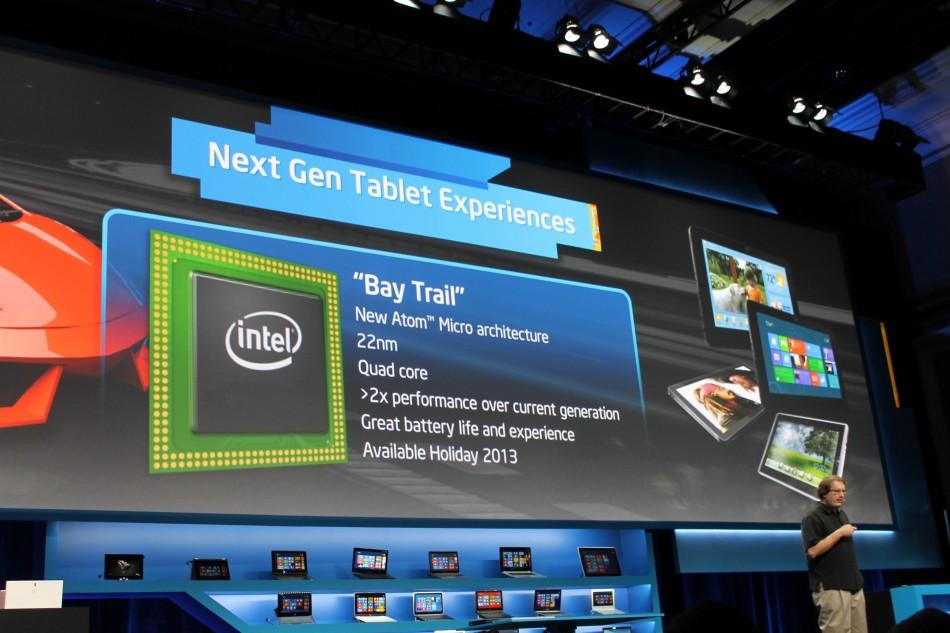 Intel's Bay Trail tablet processor