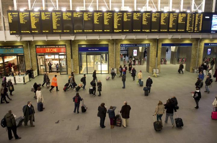 King's Cross station in London