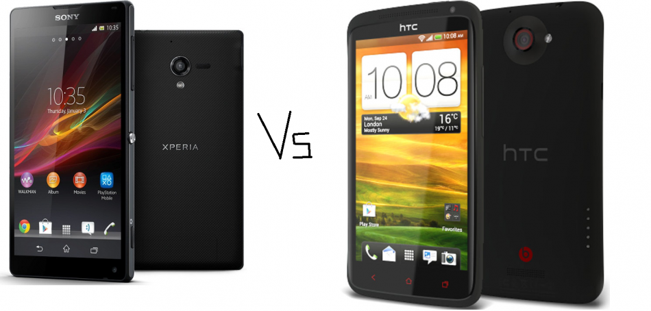 CES 2013: Sony Xperia ZL Vs HTC One X  Feature Comparison
