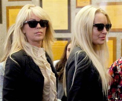 Dina and Lindsay Lohan