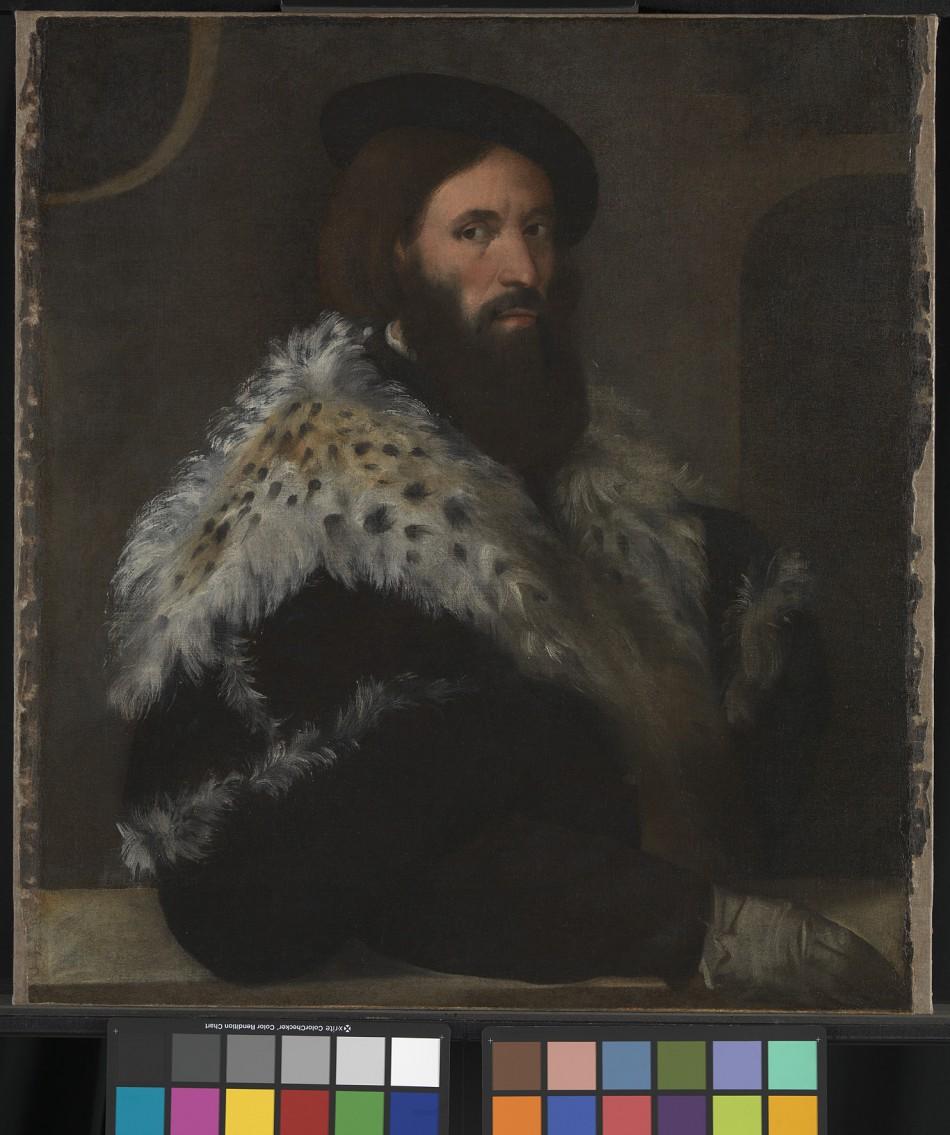 Titian, Portrait of Girolamo Frascatoro, c. 1528