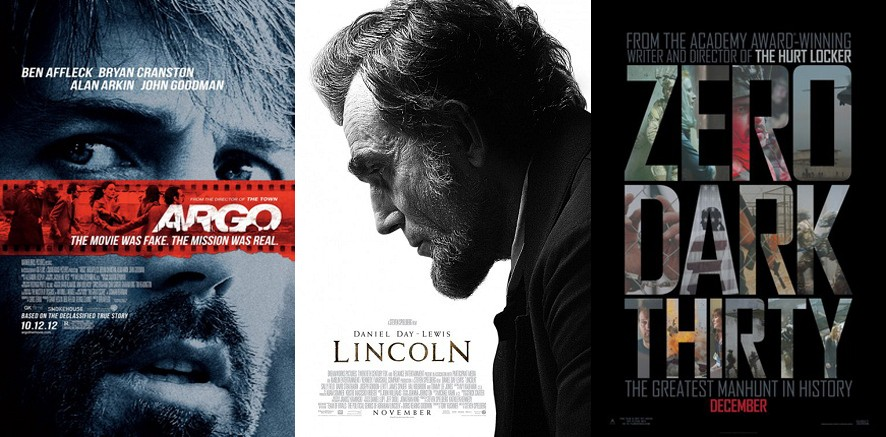 Oscars 2013 posters