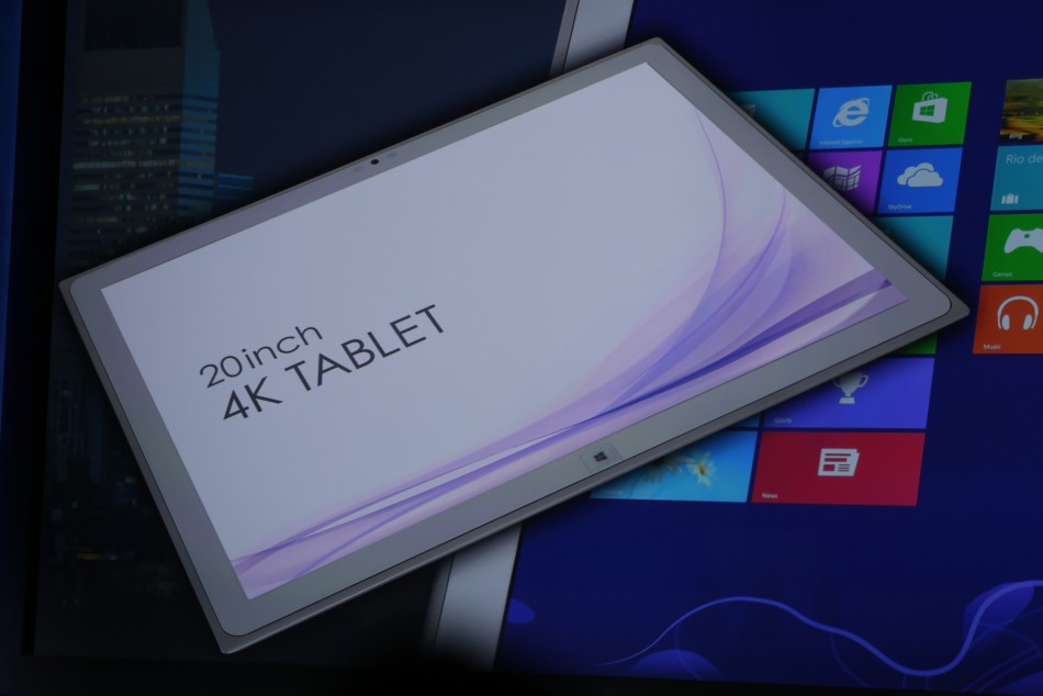 Panasonic 20 inch tablet CES