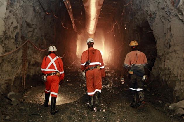 ABG mine in Africa