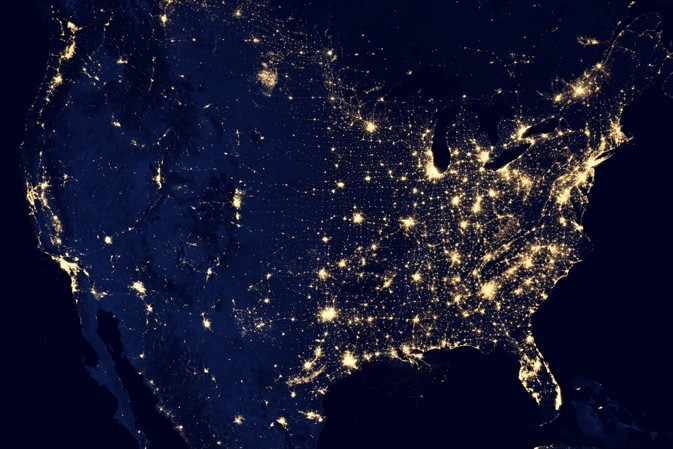 NASA nighttime views of Earth