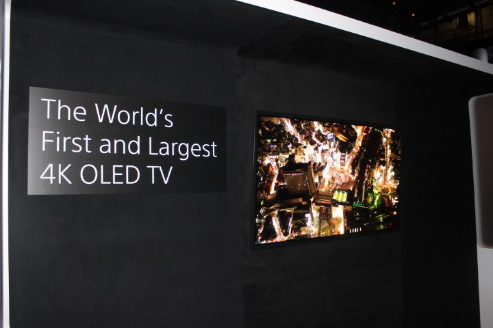 Sony's 56in 4K OLED Prototype
