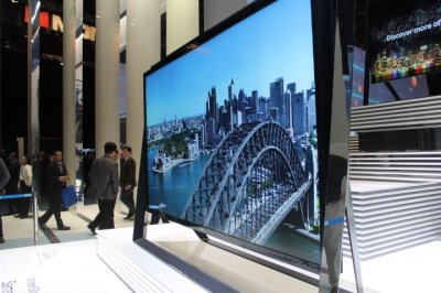 Samsungs Worlds Largest Ultra HD TV
