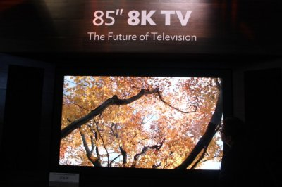 Sharps 8K TV - the Future of TV