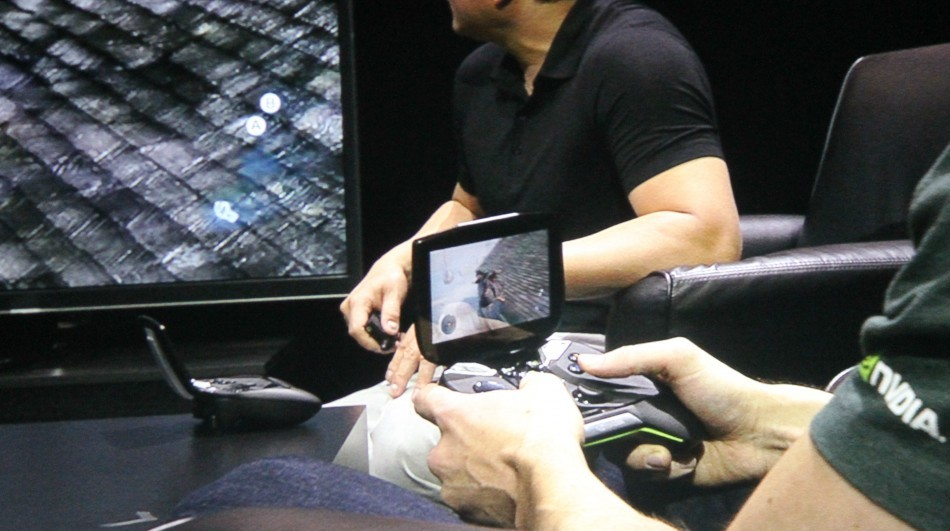 CES Nvidia Project Shield