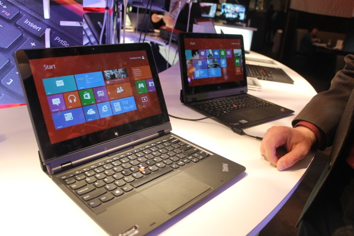 CES 2013: Lenovo ThinkPad Helix - Hands-on With the \