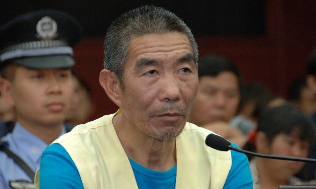 Zhang Yongming was sentenced to death for killing 11 people in Southwest China (xinhuanet)