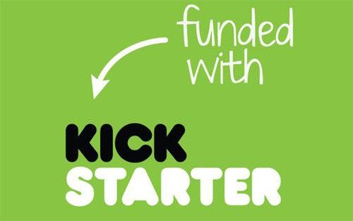 Kickstarter logo 100,000 projects