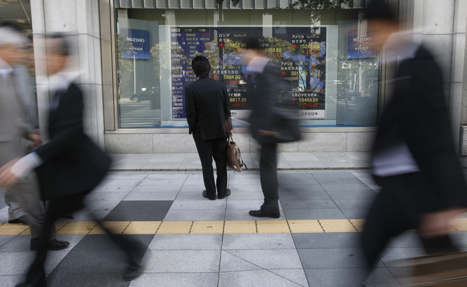 Asian stocks mostly lower after China inflation data