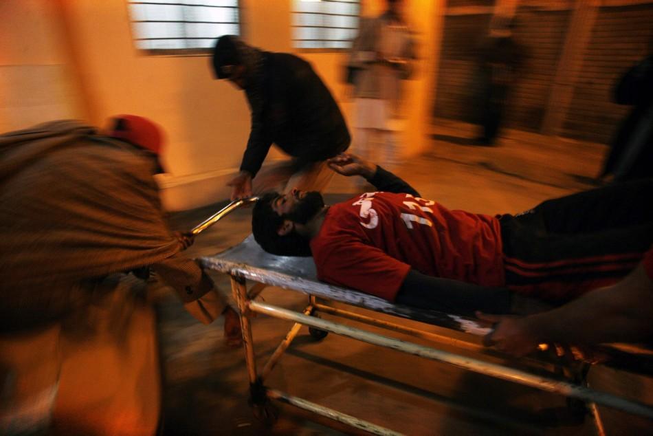Pakistan sectarian bomb blasts