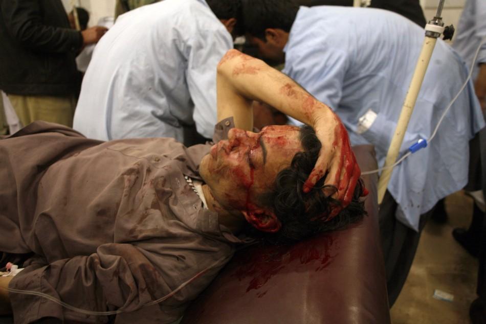Five Killed, 37 Injured In Bomb Blast Targeting Islamist Leader In Pakistan