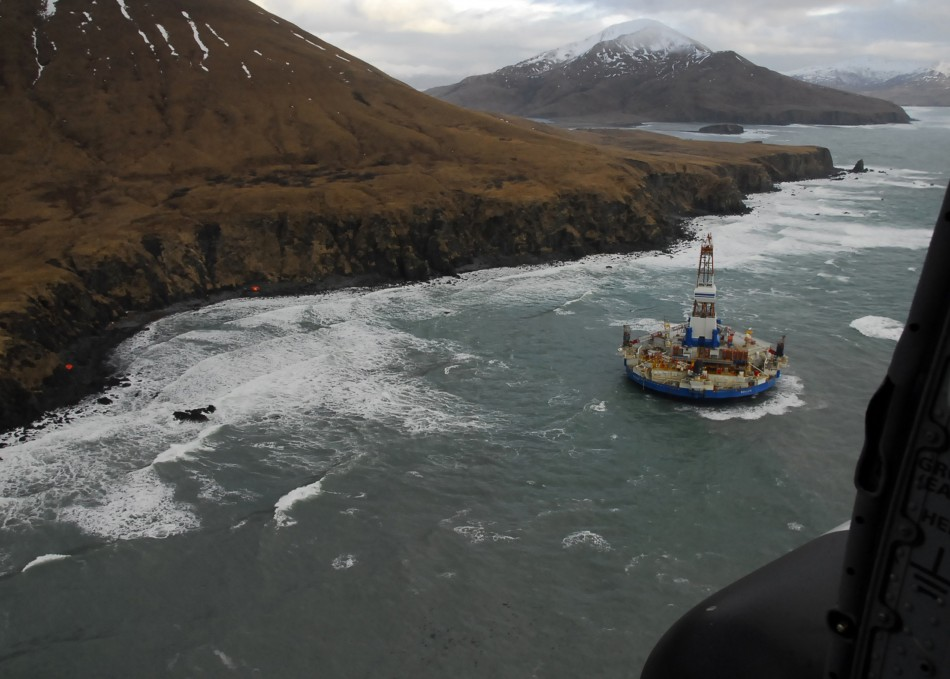 Shell's Kulluk oil rig (Photo: Reuters)