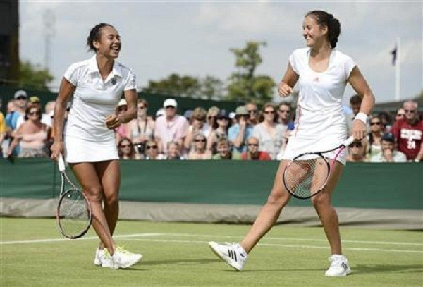 Heather Watson and Lauras Robson
