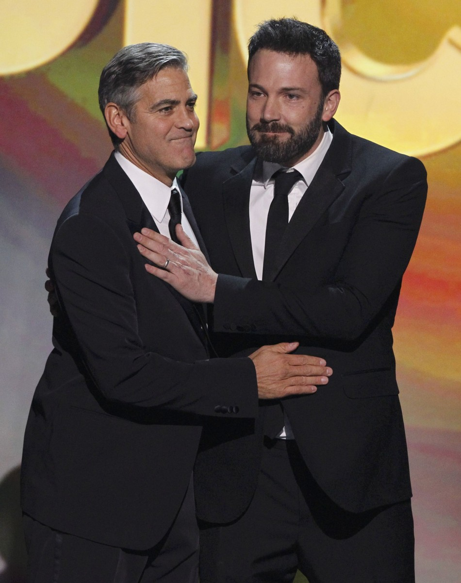 Director Affleck and producer Clooney