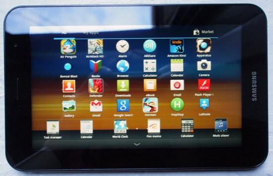 Galaxy Tab 7.0 Plus P6210 (Wi-Fi)