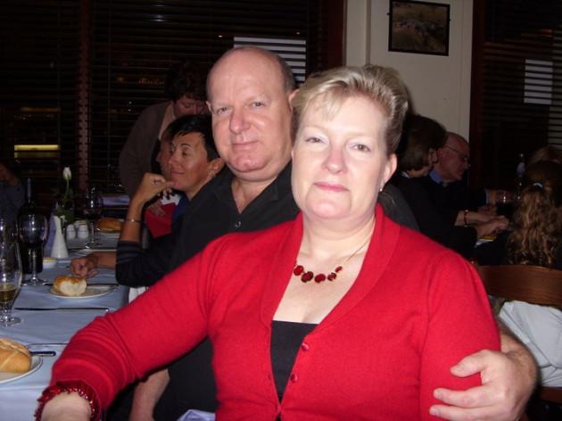 Amanda and Bernard Robinson