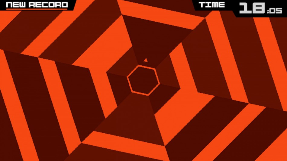 Super Hexagon iOS Android
