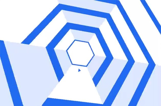 Android Super Hexagon iOS iPhone
