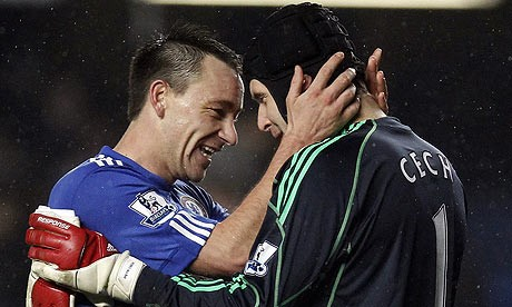 John Terry and Petr Cech