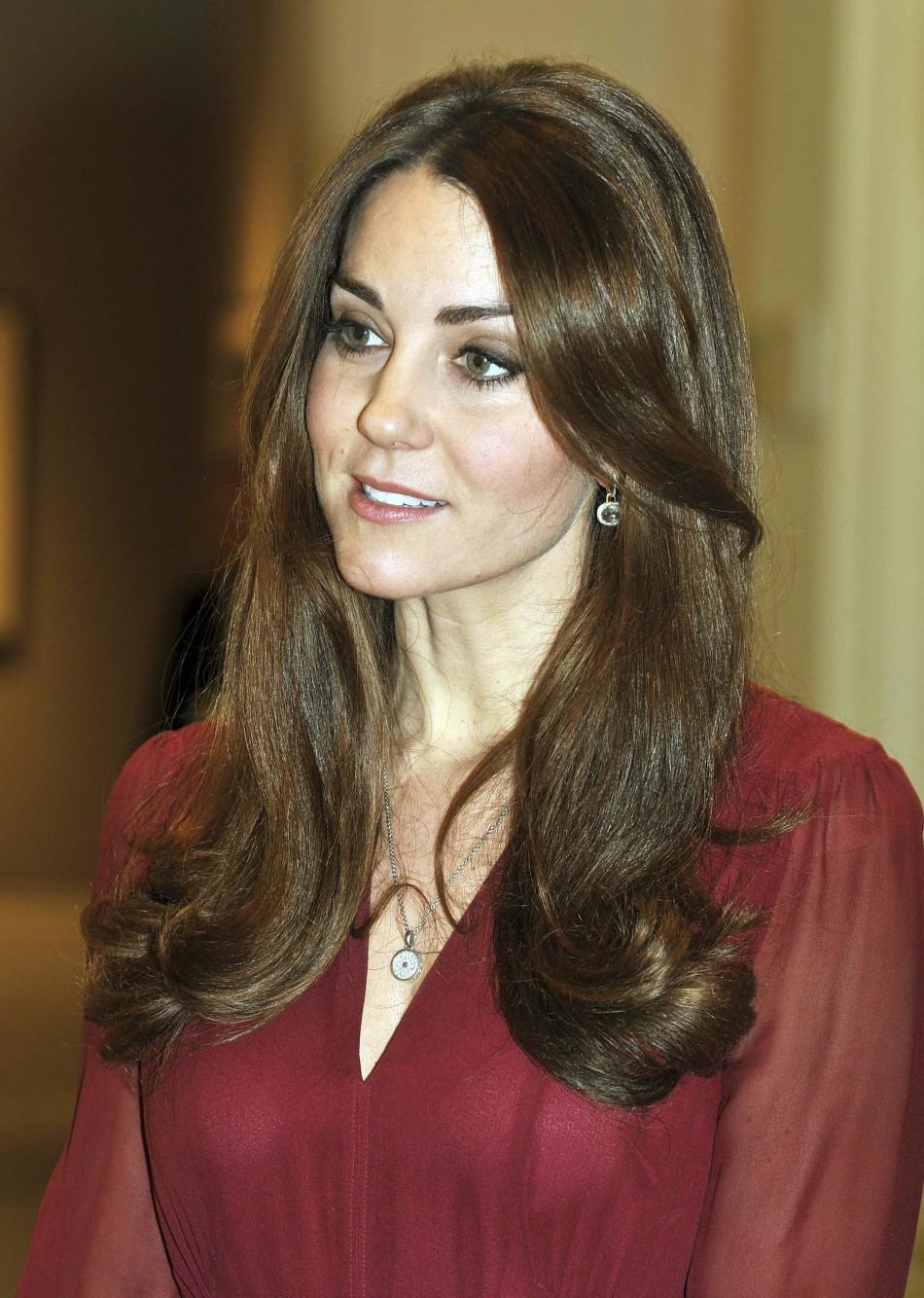 Britains Catherine, Duchess of Cambridge