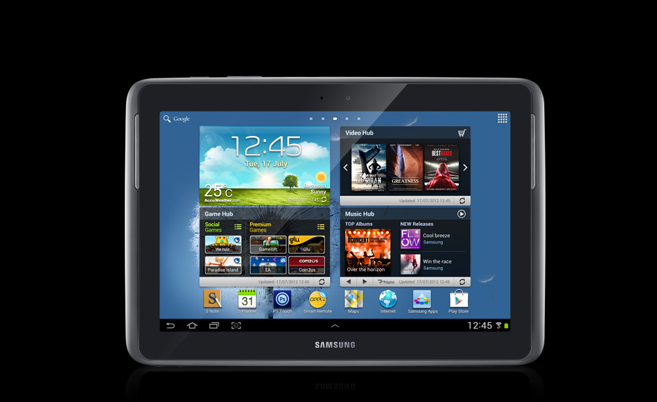 Root Samsung Galaxy Note 10.1 LTE N8020 on XXBMA2 Android 4.1.2 Official Firmware [Tutorial]