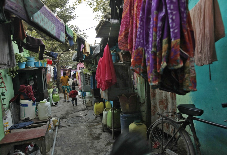 Slum Delhi gang rape