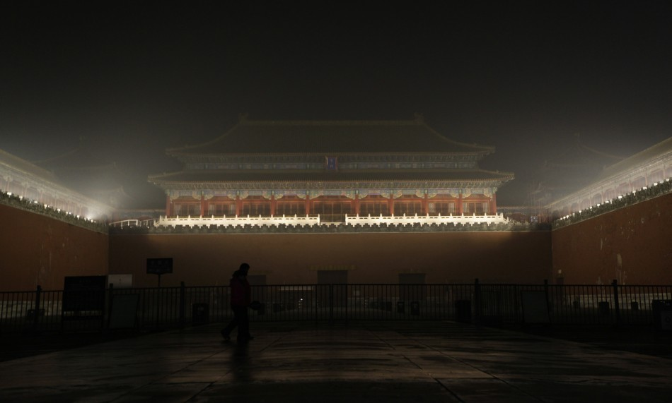 The air in Beijing tastes of car fumes and coal dust, two of the main sources of pollution