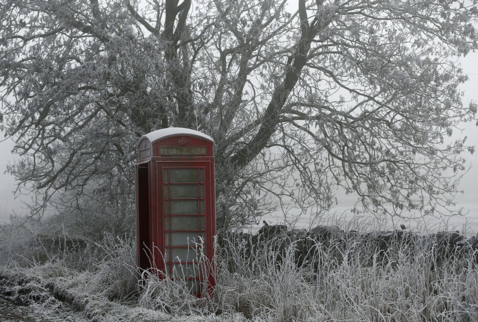 The big freeze hits the UK