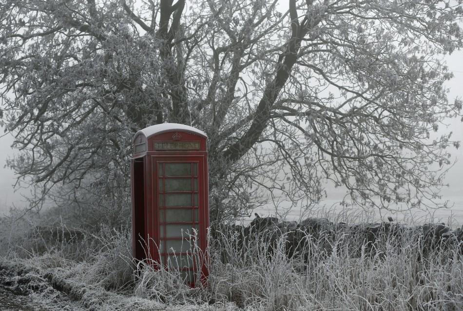 The big freeze hits the UK