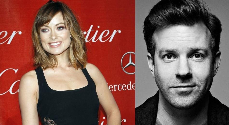 Olivia Wilde (L) Engaged to Boyfriend Jason Sudeikis