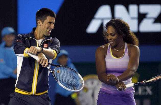 Novak Djokovic - Serena Williams