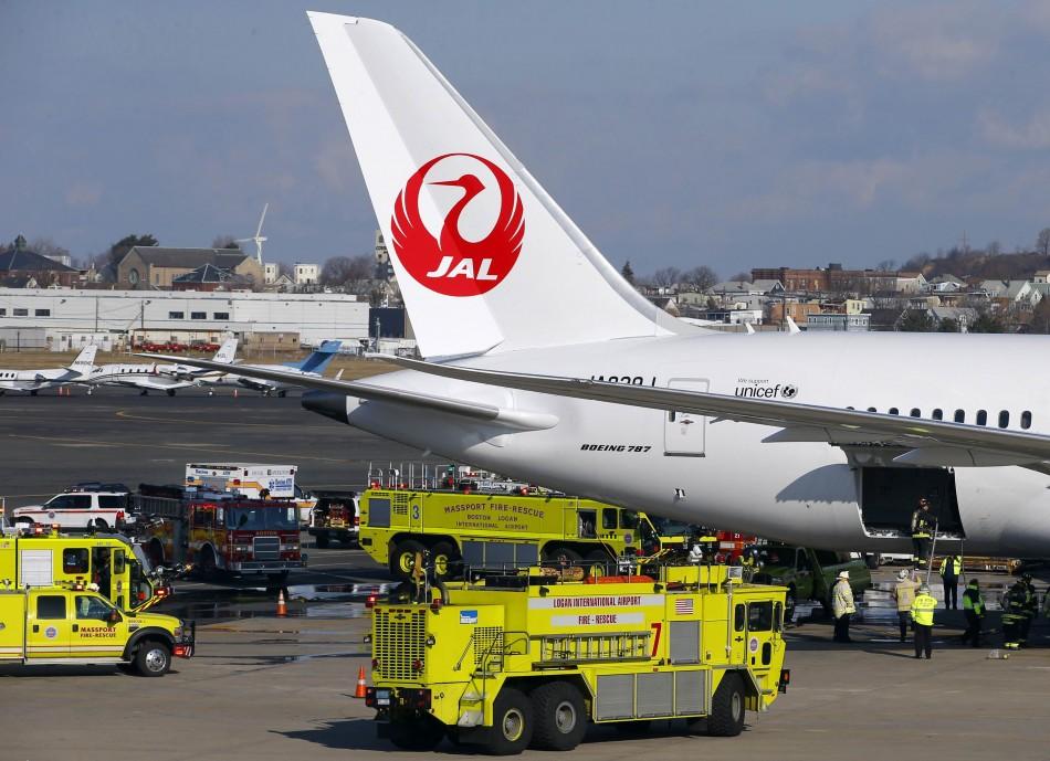 Japan airlines' Boeing Dreamliner