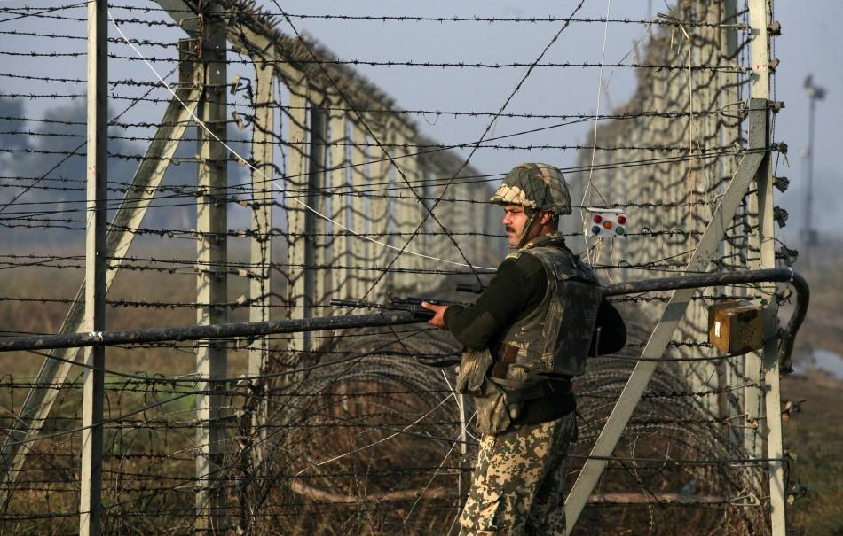 India-Pakistan border tensions