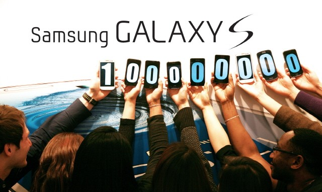 Samsung Galaxy S sales