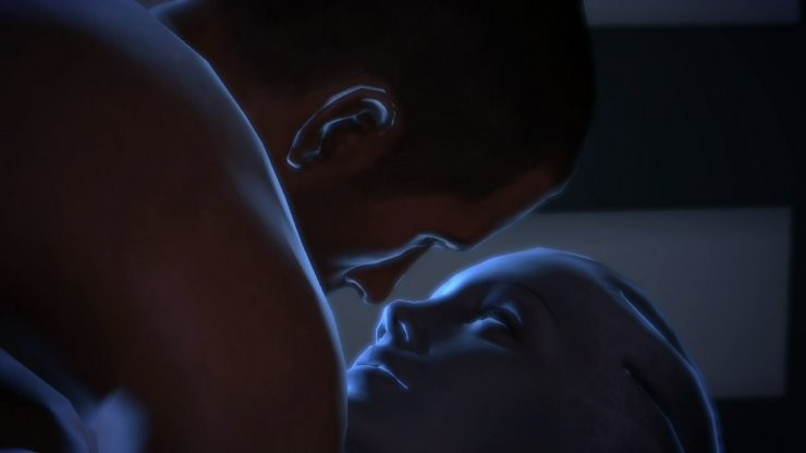 Mass Effect sex scene Seduce Me