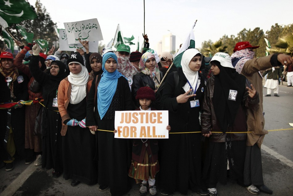 Islamabad protest