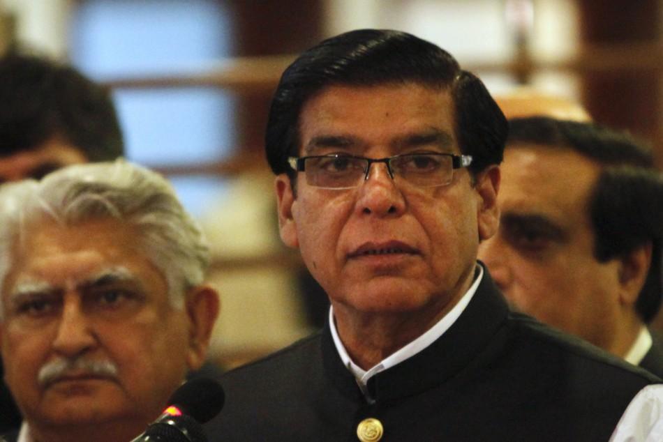 Pakistan's PM Ashraf