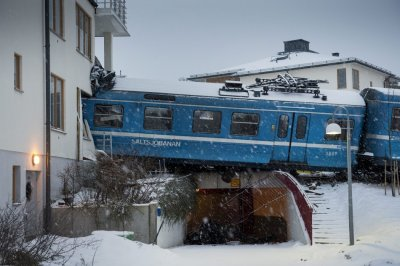 Train Crash Stockholm