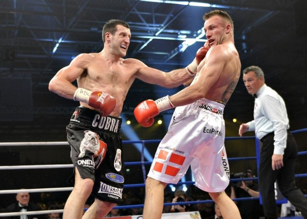 Carl Froch and Mikeel Kessler