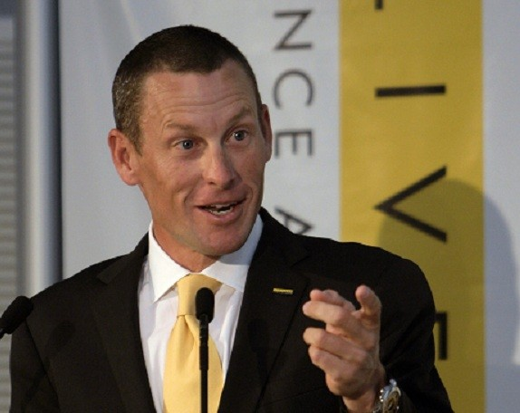 Lance Armstrong at Livestrong event
