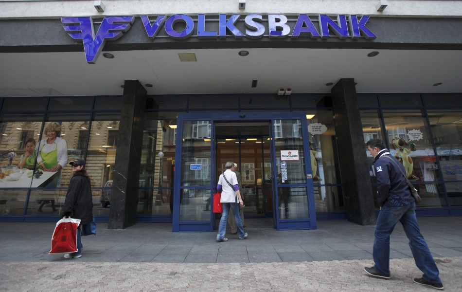 The thieves tunneled into a branch of Berliner Volksbank (Reuters)