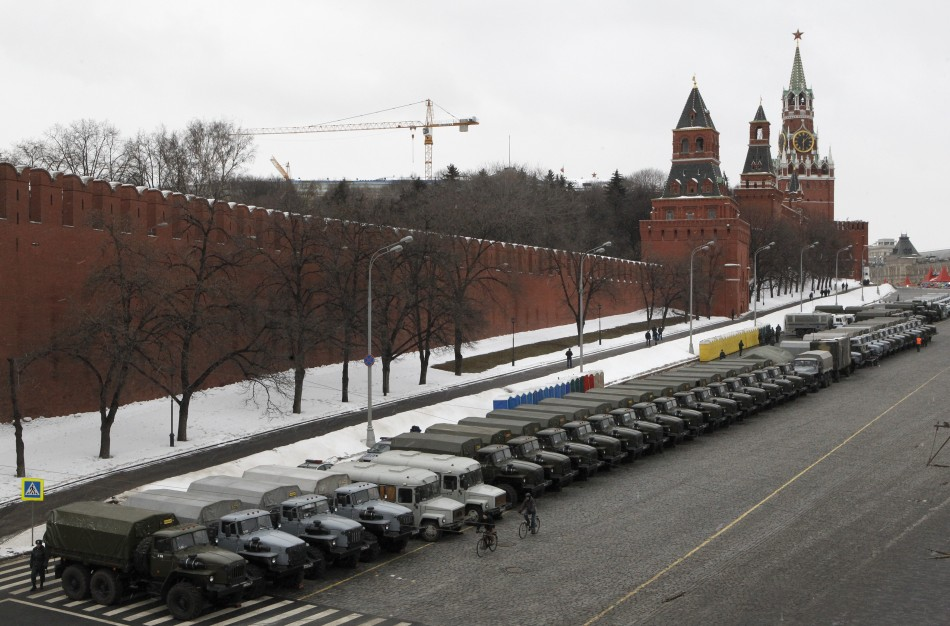 Kremlin Website Hacked, Taken Offline