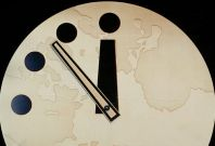 U.S. Scientists Point to End-Day Indicators: Sets Doomsday Clock to 5 Minutes before 12